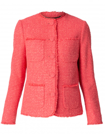 Bernice Pink Tweed Jacket