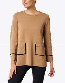 D.Exterior - Camel Double Merino Sweater