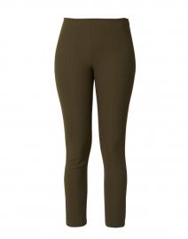 Dark Brown Stretch Cotton Pant