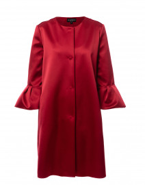 Red Satin Coat