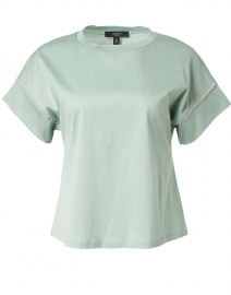 Palma Sage Green Cotton Top