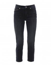 Piper Black Cropped Denim Jean