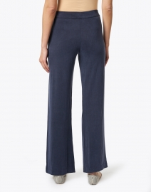 Majestic Filatures - Navy Cupro Stretch Relaxed Pant