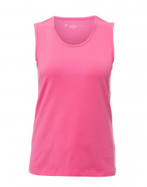 Punch Pink Stretch Cotton Tank
