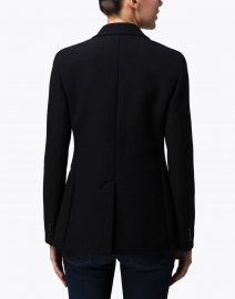 Weekend Max Mara - Grolla Black Cotton Jersey Blazer