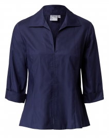 Swing Navy Poplin Shirt