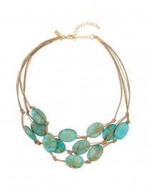 Turquoise Aqua Terra  Necklace
