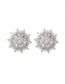 FALLON - Silver Shining Star Stud Earrings