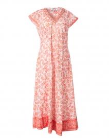 Poppy Floral Printed Cotton Midi Dress