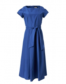 Farneto Blue Cotton Dress