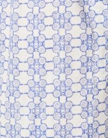 Ro's Garden - Asha Blue Floral Cotton Kurta