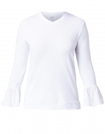 Sassafrass White Bamboo Cotton Top