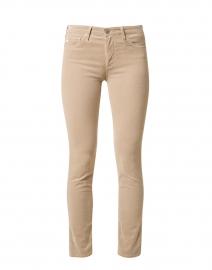 Prima Beige Stretch Corduroy Slim Jean