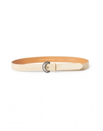 Laia Cappuccino Leather Belt