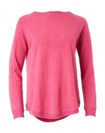 Berry Pink Cashmere Sweatshirt