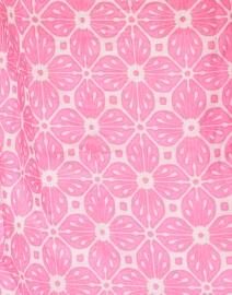 Bella Tu - Maya Pink and White Tile Printed Cotton Tunic