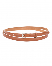 Cognac Double Wrap Belt