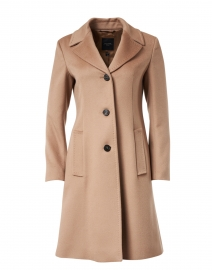 Vincita Camel Wool Coat