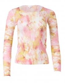 Pink Tie Dye Superfine Cashmere Sweater