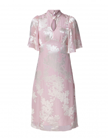 Shifali Pale Pink Floral Printed Dress