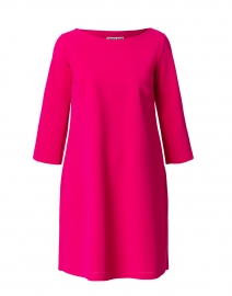Luma Pink Stretch Jersey Swing Dress