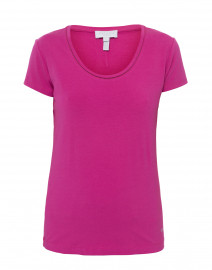 Ebasica Berry Stretch Cotton Top