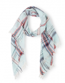 Soft Multi Check Merino Wool Scarf