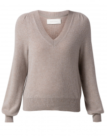 Delphina Nuance Beige Cashmere Sweater