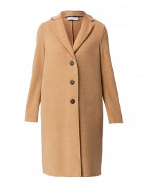 Camel Polaire Boxy Coat