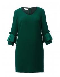 Emerald Green Crepe Dress