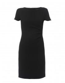 Black Ruched-Side Dress