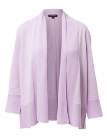 Lilac Cotton Viscose Cardigan