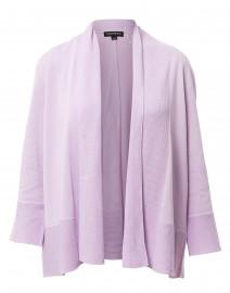 Lilac Cotton Viscose Cardigan