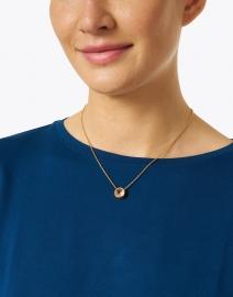 Dean Davidson - Morganite Gold Pendant Necklace