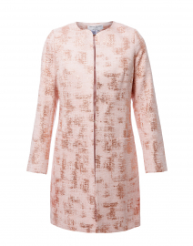 Alice Pale Pink Shimmer Tweed Jacket
