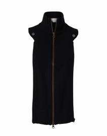 Uptown Essential Black Cashmere Dickey