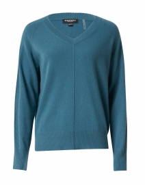 Deep Lake Blue Cashmere Sweater