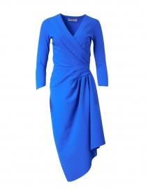 Gullan Blue Stretch Jersey Dress
