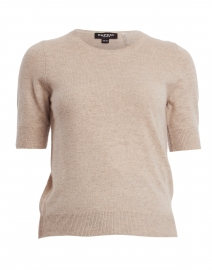 Sand Knit Cashmere Top