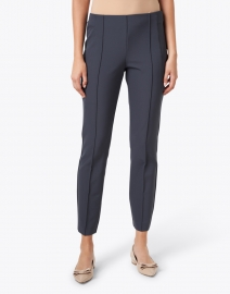 Lafayette 148 New York - Gramercy Blue Stretch Pintuck Pant