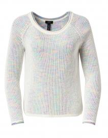 Multicolor Ribbed Cotton Sweater