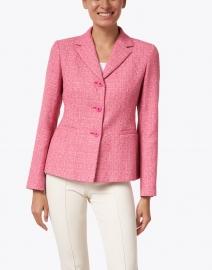Max Mara Studio - Nambo Pink Stretch Tweed Jacket