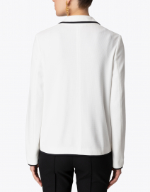 Marc Cain - White Knit Blazer Jacket