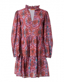Rose Monaco Print Cotton Dress