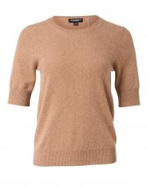 Walnut Knit Cashmere Top