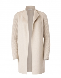 Agate Beige Wool Cashmere Coat