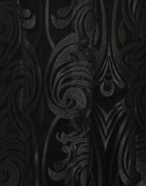 Connie Roberson - Rita Black Deco Sheer Lace Top