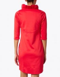 Gretchen Scott - Red Ruffle Neck Dress