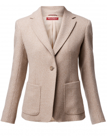 Blasone Light Camel Wool Cashmer Blazer