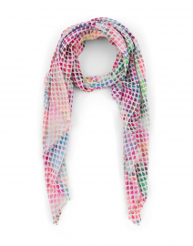 First Love Multicolor Dot Print Scarf